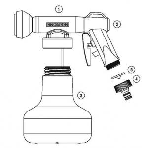 onderdelen aquanemix sproeier