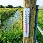 bodemtemperatuur in de tuin meten voor inzet bestrijders